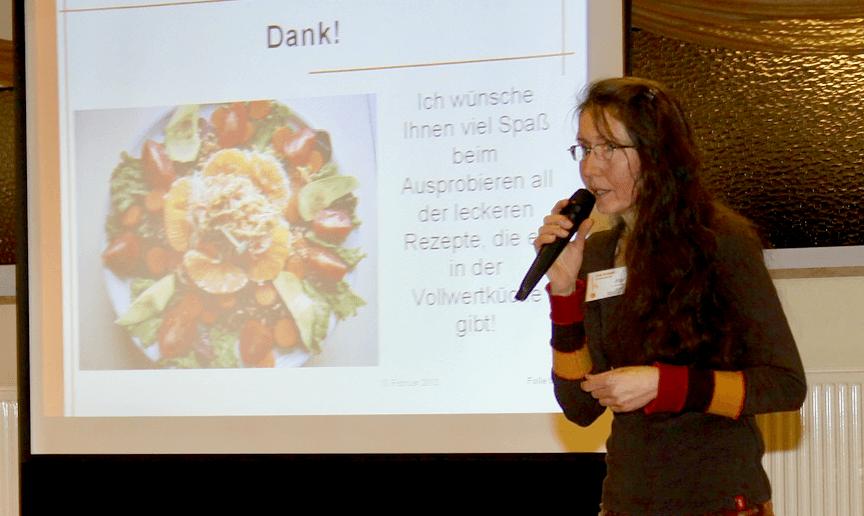 Vortrag über gesunde Ernährung im TSC Rot-Gold Schönkirchen