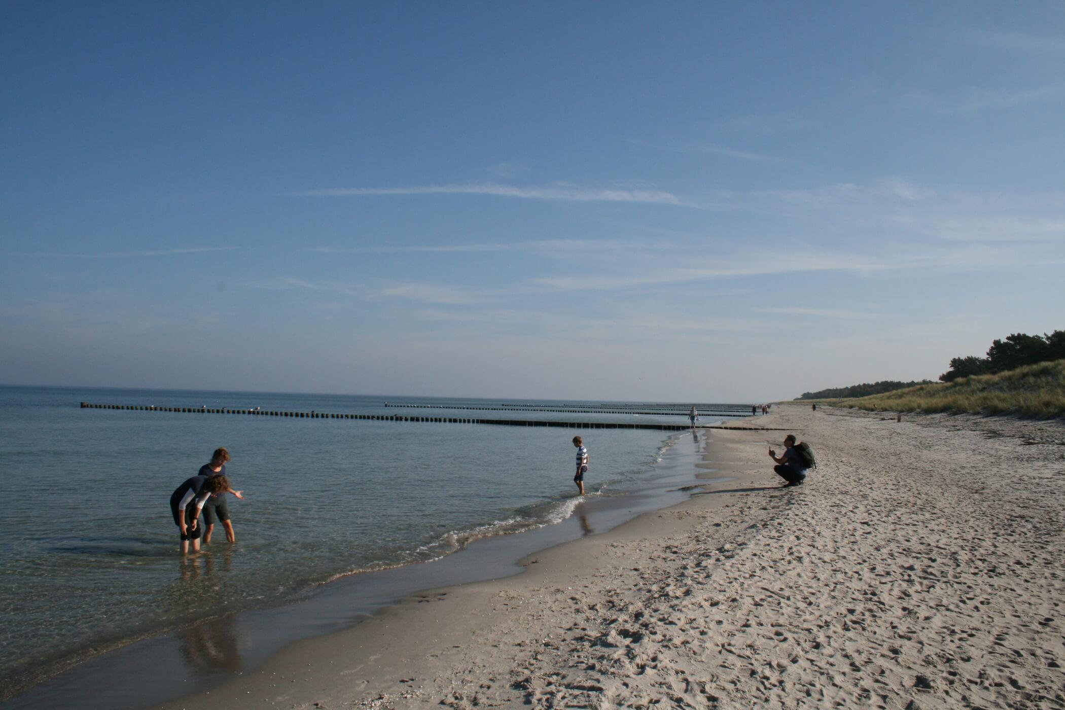 Ostsee am Nordstrand auf dem Darß mit der Frischkostwoche-Gruppe vom 07.-14. Oktober 2018